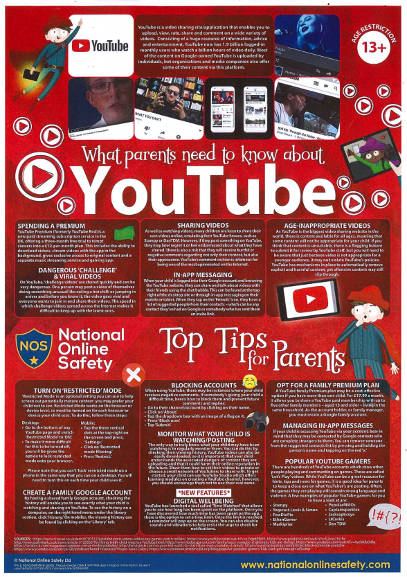 You Tube - What parents need to know(1)